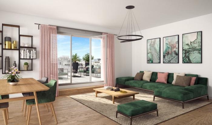 Appartements neufs Île de Nantes référence 5571 : aperçu n°1