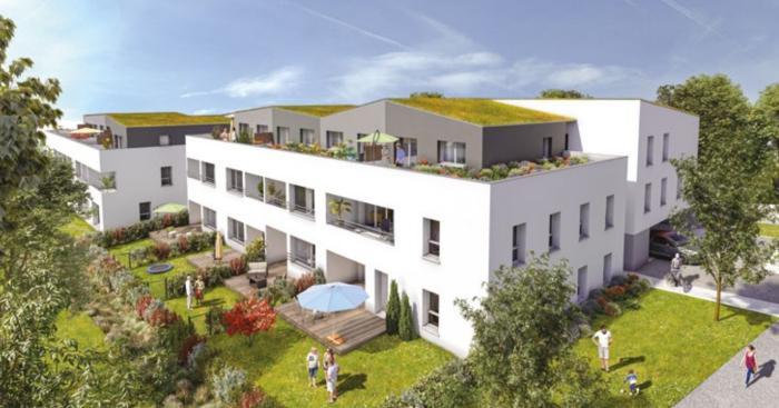Appartements neufs Saint-Herblain référence 5576 : aperçu n°0
