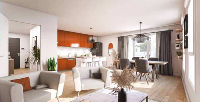 Appartements neufs Saint-Herblain référence 5576 : aperçu n°1