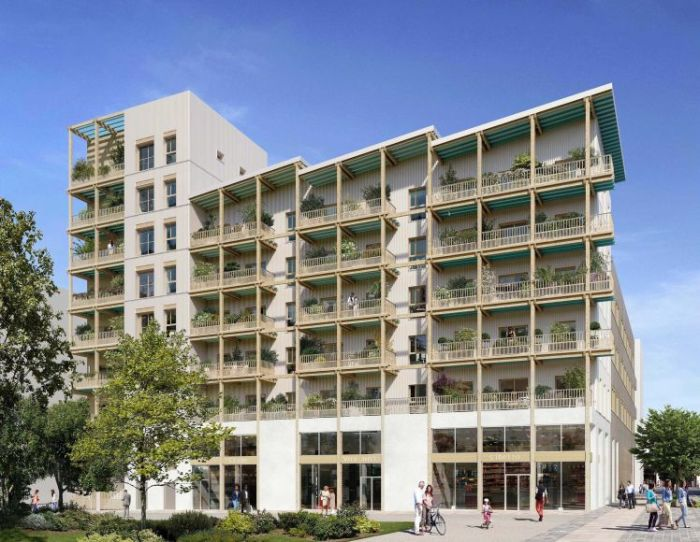 Appartements neufs Île de Nantes référence 5579 : aperçu n°0
