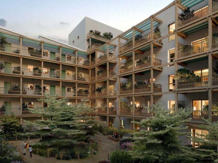 Appartements neufs Île de Nantes référence 5579 : aperçu n°2
