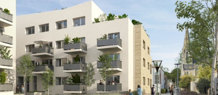 Appartements neufs Les Sorinières référence 5609 : aperçu n°2
