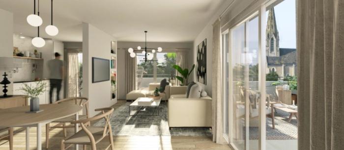 Appartements neufs Les Sorinières référence 5609 : aperçu n°1