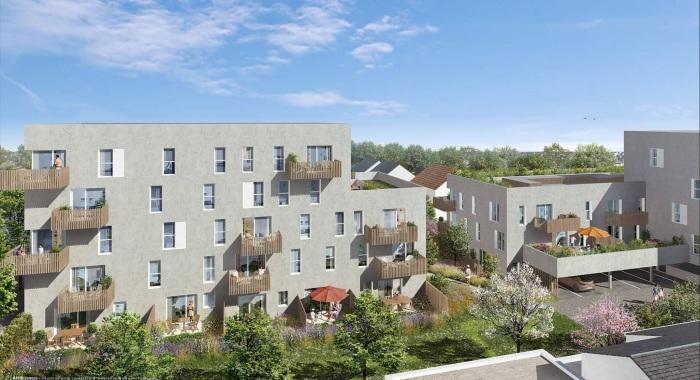 Appartements neufs Doulon référence 5611 : aperçu n°0
