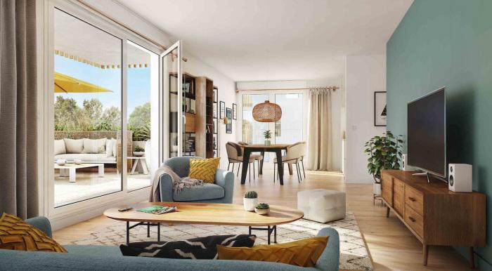 Appartements neufs Doulon référence 5611 : aperçu n°1