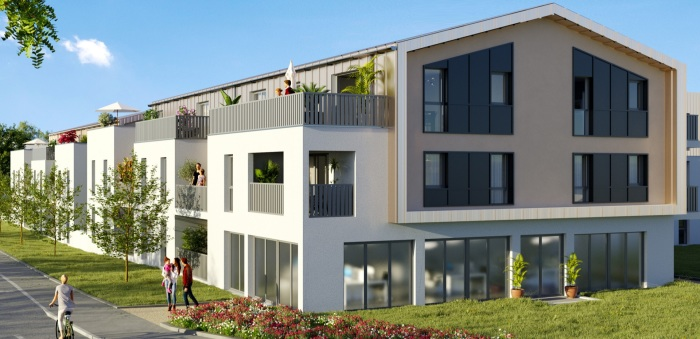 Appartements neufs Sautron référence 5662 : aperçu n°0