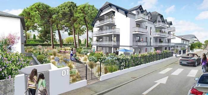 Appartements neufs La Baule-Escoublac référence 5622 : aperçu n°0