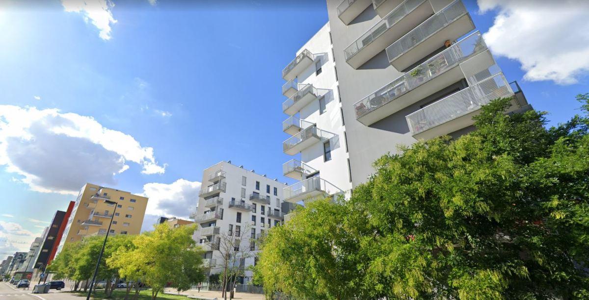 Quartier République à Nantes - vue sur des immeubles modernes dans le quartier République