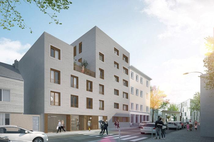 Appartements neufs Île de Nantes référence 5663 : aperçu n°0