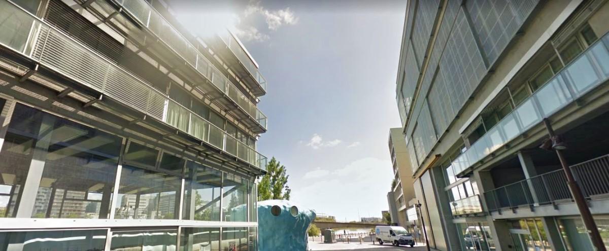 Les grands projets d'architecture à Nantes – vue sur l'école d'architecture sur l'Île de Nantes