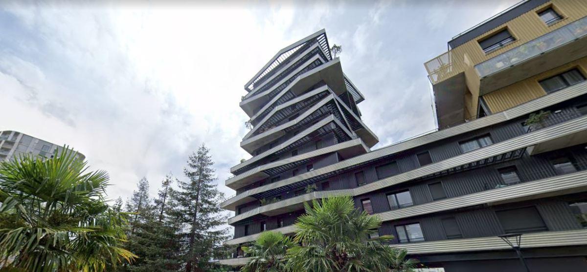 Les grands projets d'architecture à Nantes - vue sur la tour Inoxia à Nantes