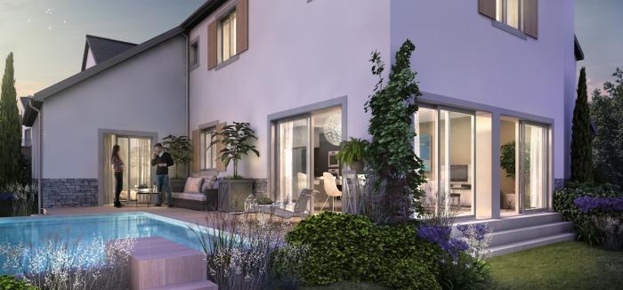 Maisons neuves La Baule-Escoublac référence 5666 : aperçu n°2