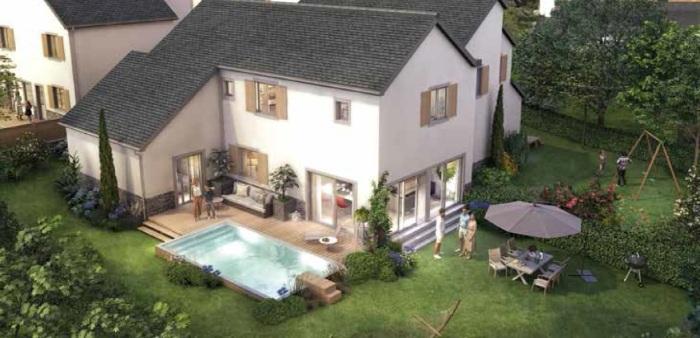 Maisons neuves La Baule-Escoublac référence 5666 : aperçu n°3