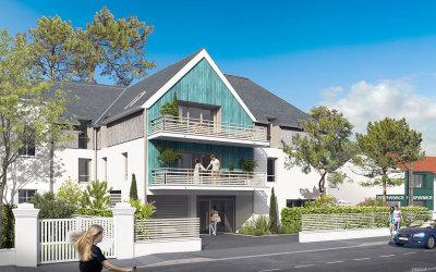 Appartements neufs La Baule-Escoublac référence 5665
