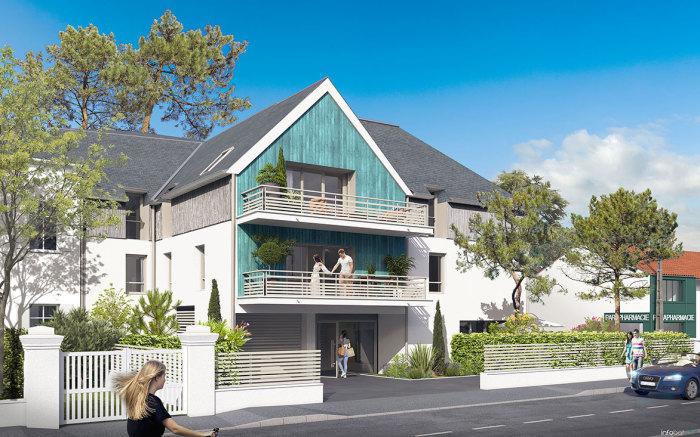 Appartements neufs La Baule-Escoublac référence 5665 : aperçu n°0