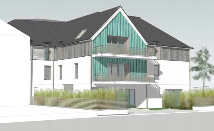 Appartements neufs La Baule-Escoublac référence 5665 : aperçu n°2
