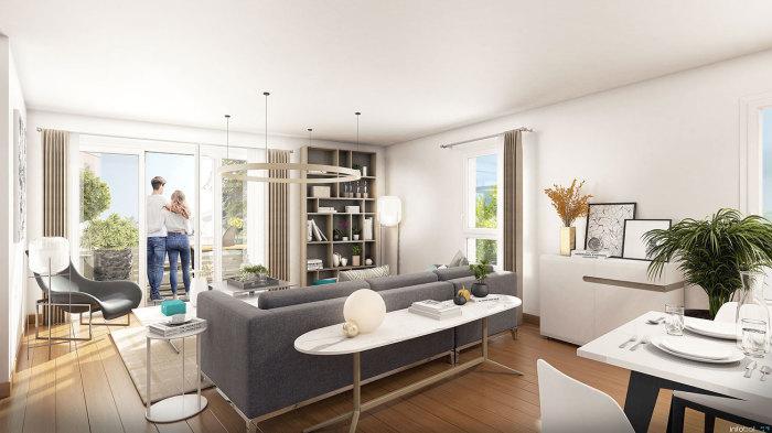 Appartements neufs La Baule-Escoublac référence 5665 : aperçu n°1