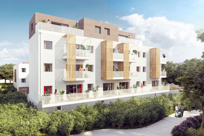 Appartements neufs Trignac référence 5668 : aperçu n°0