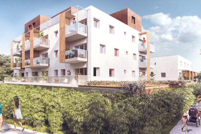 Appartements neufs Trignac référence 5668 : aperçu n°2