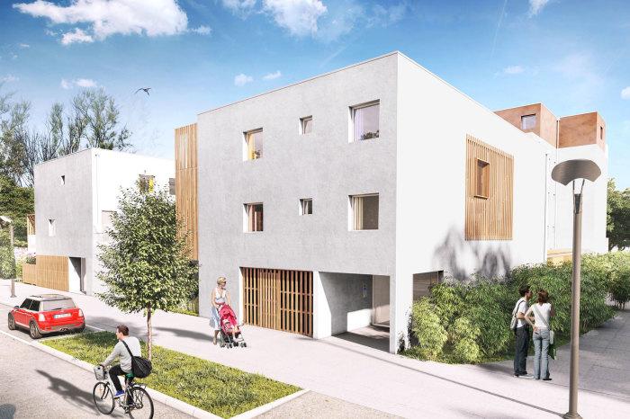 Appartements neufs Trignac référence 5668 : aperçu n°3