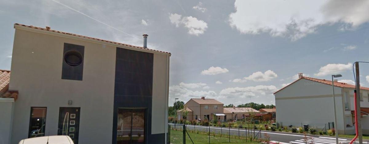 Immobilier neuf à le Loroux-Bottereau – vue sur une maison neuve à Le Loroux-Bottereau