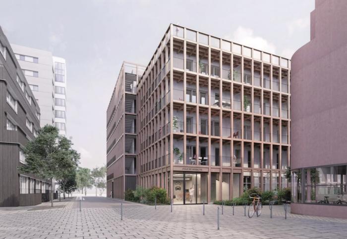 Appartements neufs Île de Nantes référence 5675 : aperçu n°2