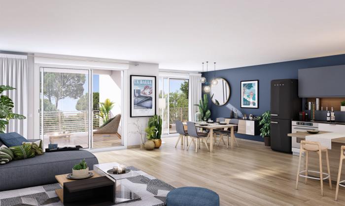 Maisons neuves et appartements neufs La Baule-Escoublac référence 5693 : aperçu n°1