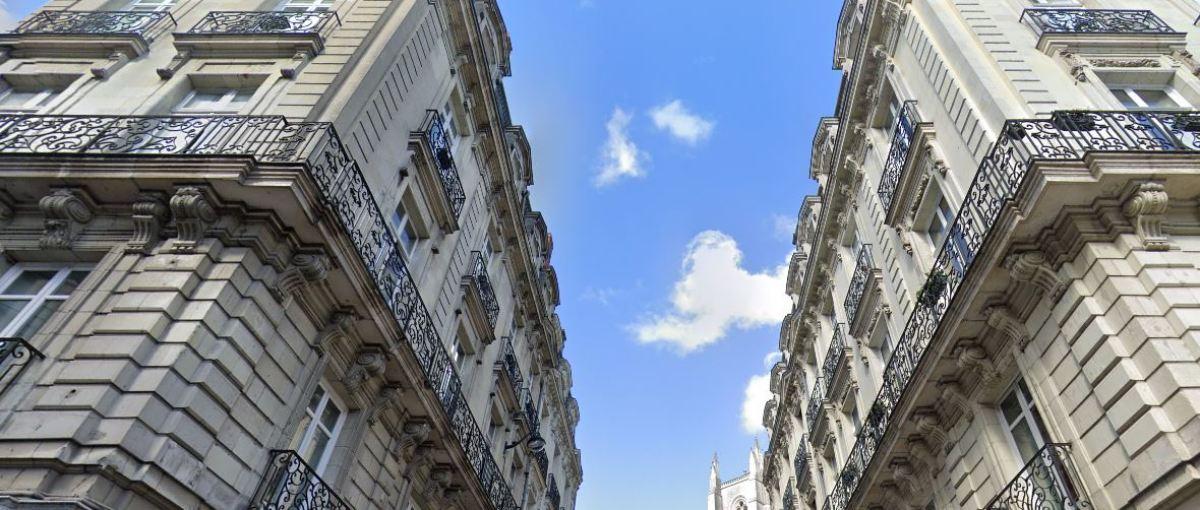 Appartements neufs Nantes - où acheter son appartement à Nantes ? - Vue sur les rues haussmaniennes de Nantes