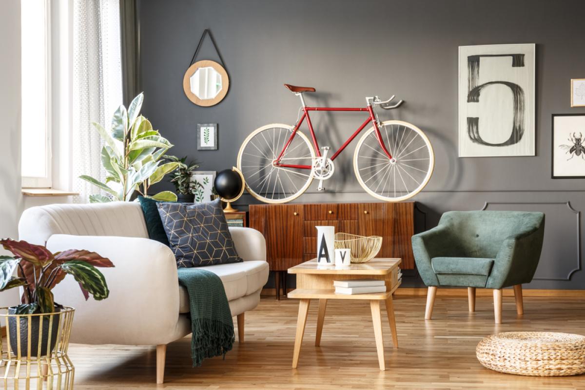 Immobilier neuf à Nantes - Intérieur moderne dans un appartement neuf