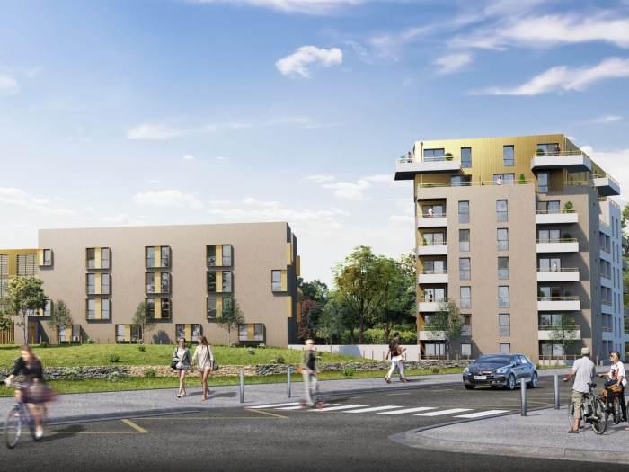 Appartements neufs Saint-Nazaire référence 5691 : aperçu n°0