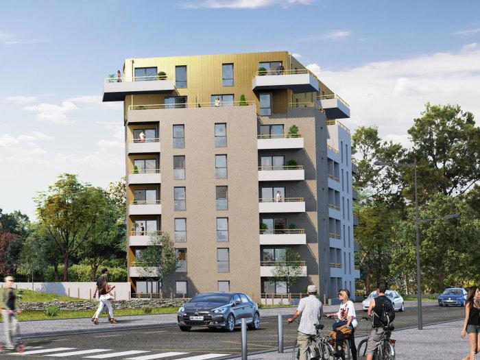 Appartements neufs Saint-Nazaire référence 5691 : aperçu n°2