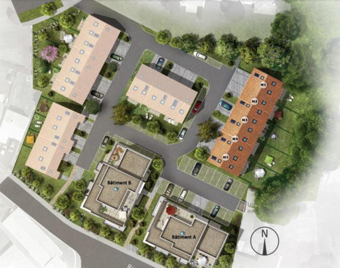 Maisons neuves et appartements neufs Les Sorinières référence 5698 : aperçu n°3