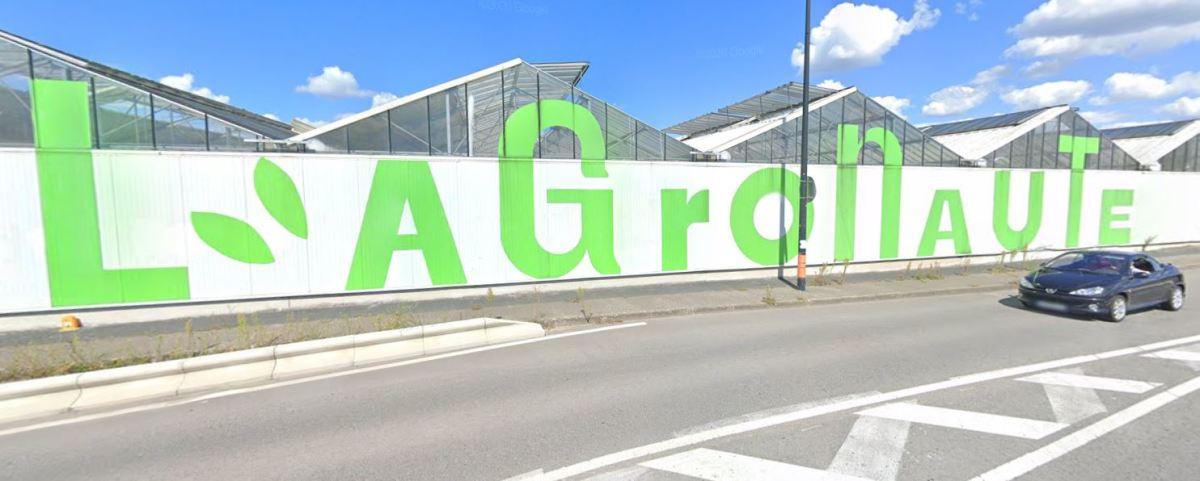 Ferme urbaine à Nantes – vue sur l'Agronaute