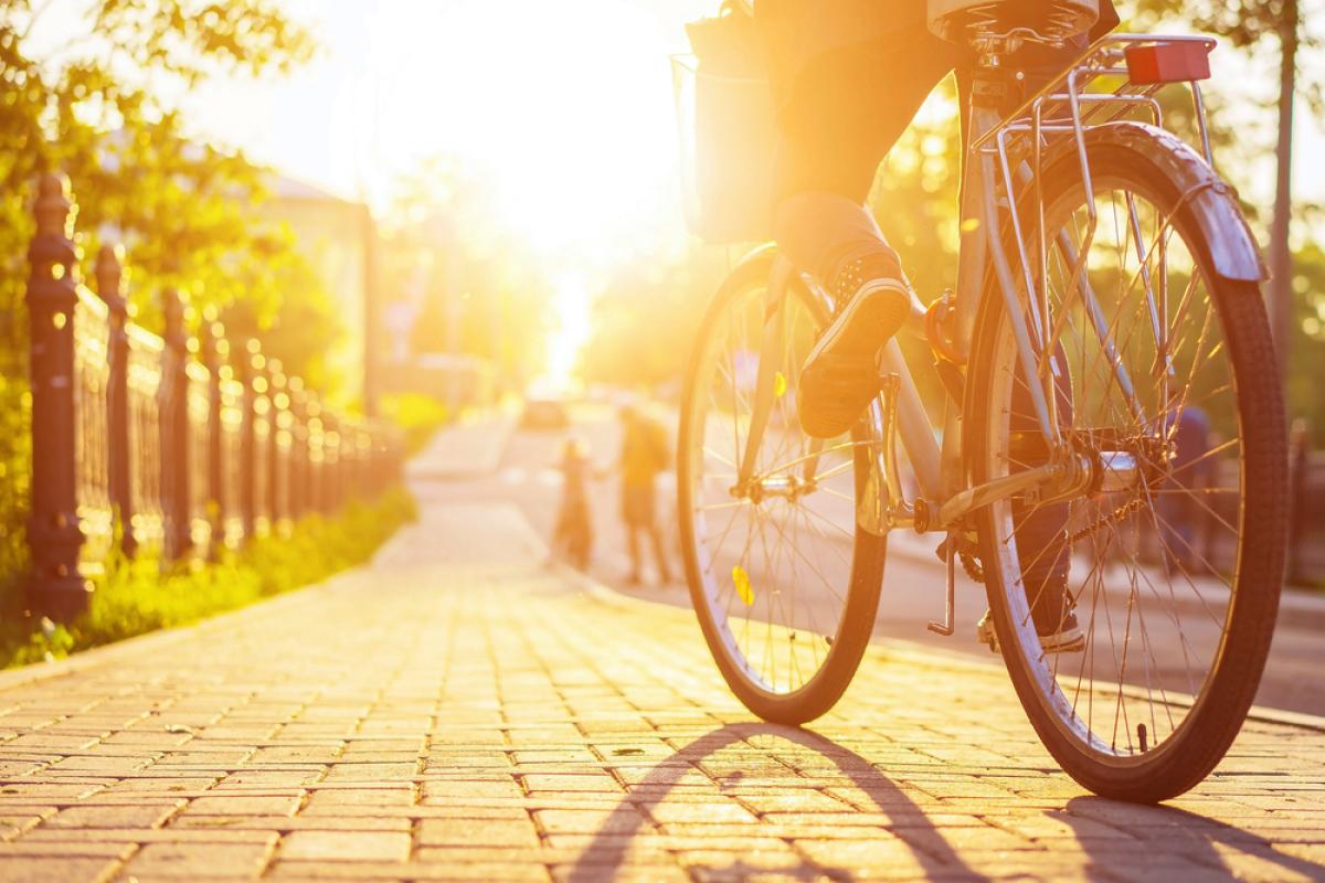Pirmil Les Isles – vue sur un vélo