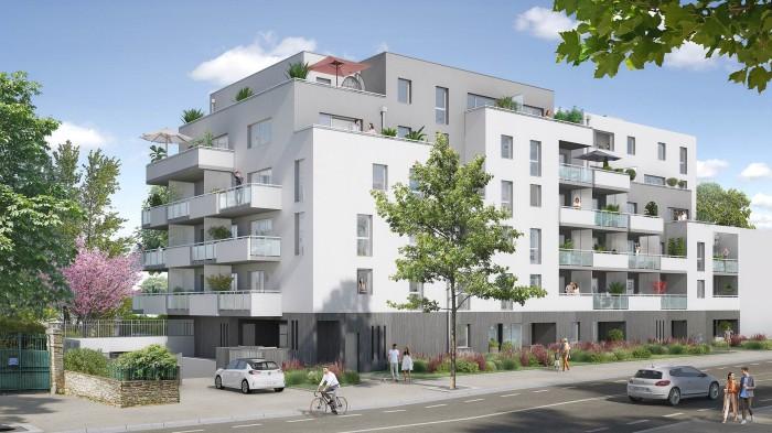 Appartements neufs Saint-Herblain référence 5713 : aperçu n°0