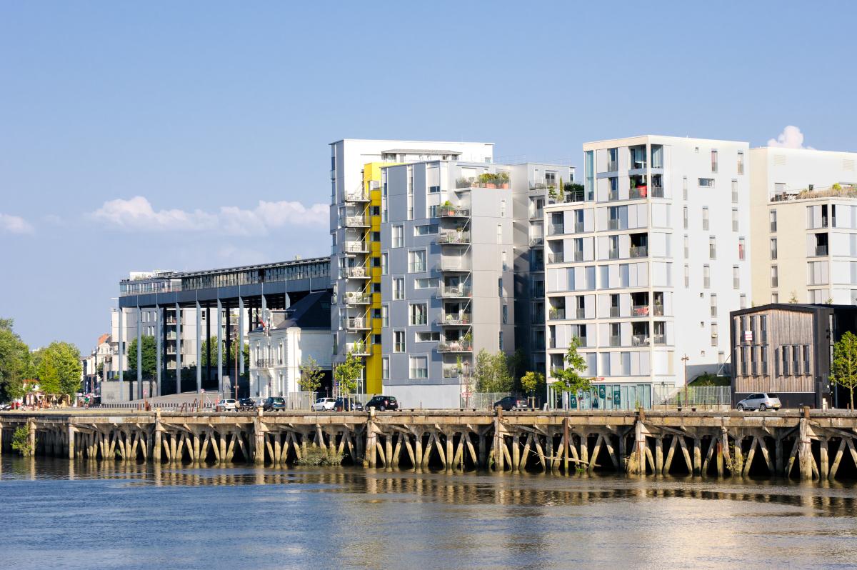 Loi Pinel Nantes - Une résidence neuve à Nantes au bord de la Loire