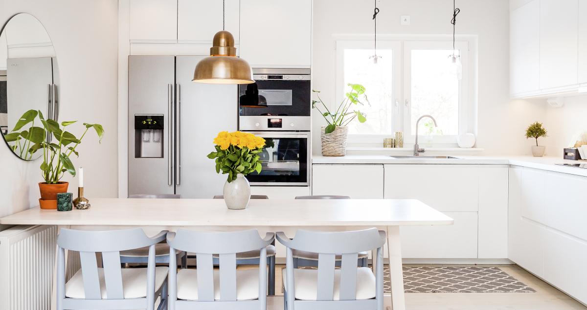 Loi Pinel Nantes - une cuisine dans un appartement neuf
