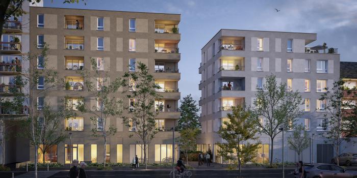 Appartements neufs Doulon référence 5750 : aperçu n°0