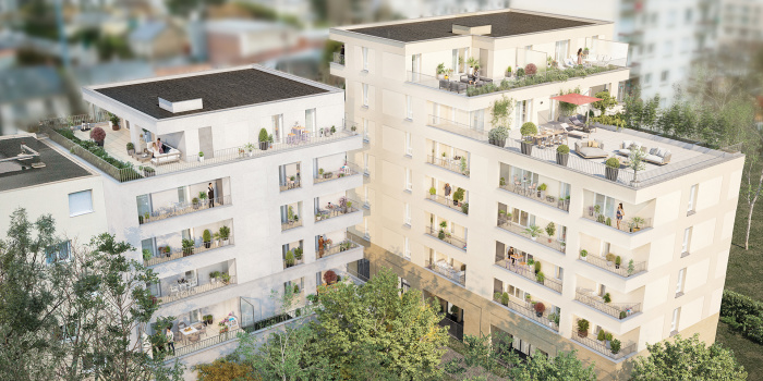 Appartements neufs Doulon référence 5750 : aperçu n°2