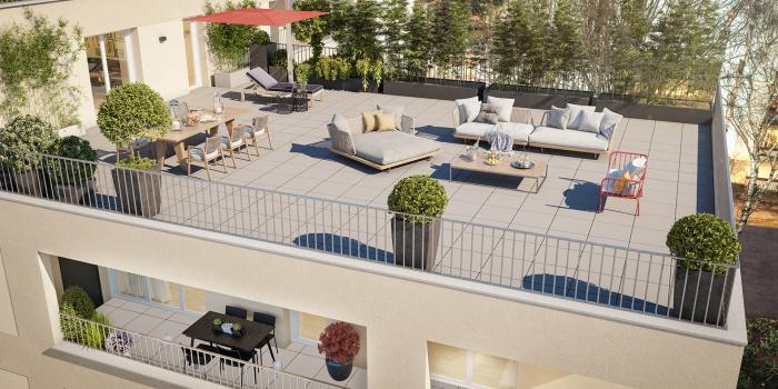 Appartements neufs Doulon référence 5750 : aperçu n°3
