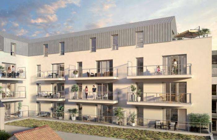 Appartements neufs Centre-ville référence 5815 : aperçu n°2