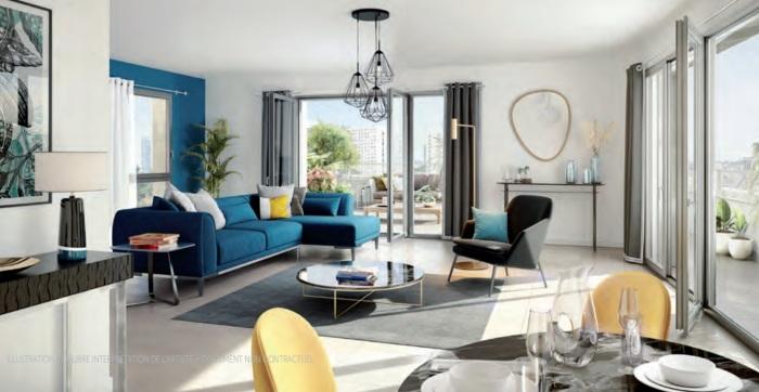 Appartements neufs Centre-ville référence 5815 : aperçu n°1