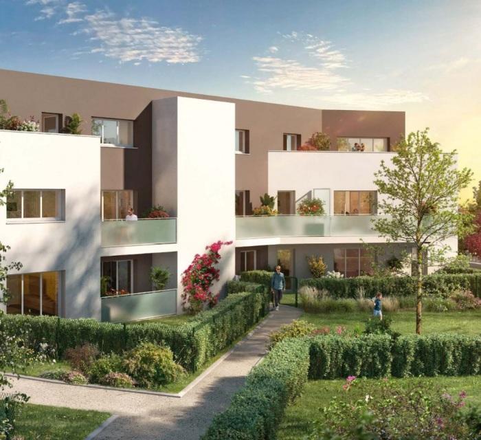 Appartements neufs Saint-Sébastien-sur-Loire référence 5818 : aperçu n°0