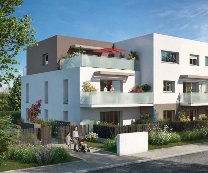 Appartements neufs Saint-Sébastien-sur-Loire référence 5818 : aperçu n°1