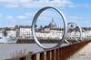 5 ponts à nantes - la ville nantaise vue depuis un pont