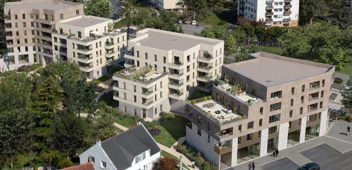 Appartements neufs Saint-Herblain référence 5860 : aperçu n°0