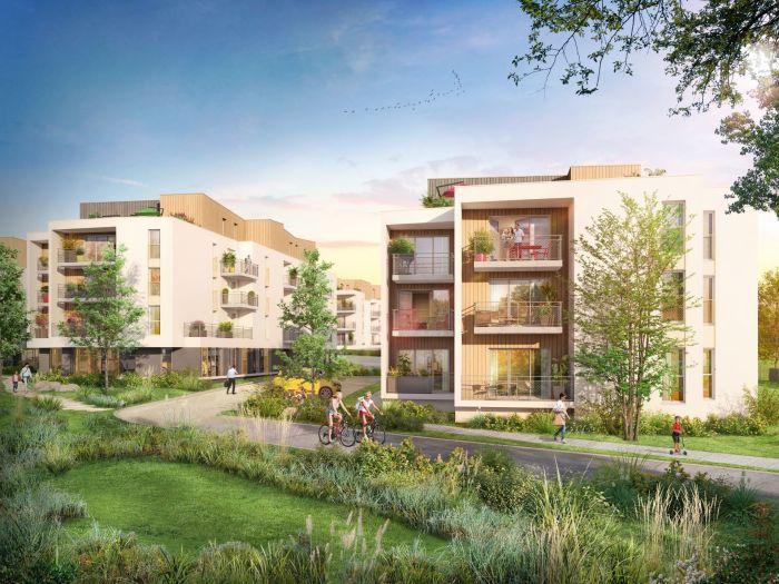 Appartements neufs Nort-sur-Erdre référence 5864 : aperçu n°0