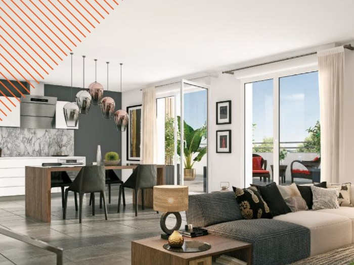 Appartements neufs Nort-sur-Erdre référence 5864 : aperçu n°1