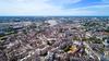 Où habiter à Nantes – vue aérienne sur le centre-ville de Nantes