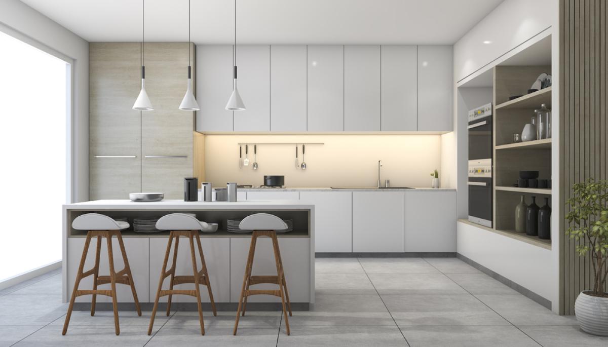 maison neuve Nantes – une cuisine aménagée haut de gamme